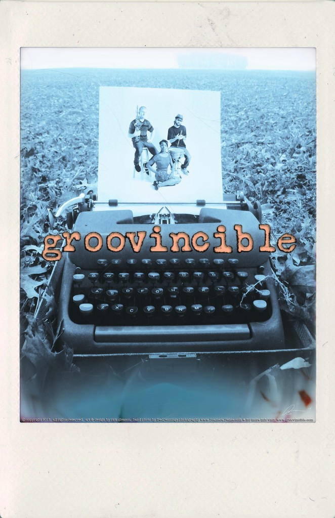 2013 Groovincible Tour Poster