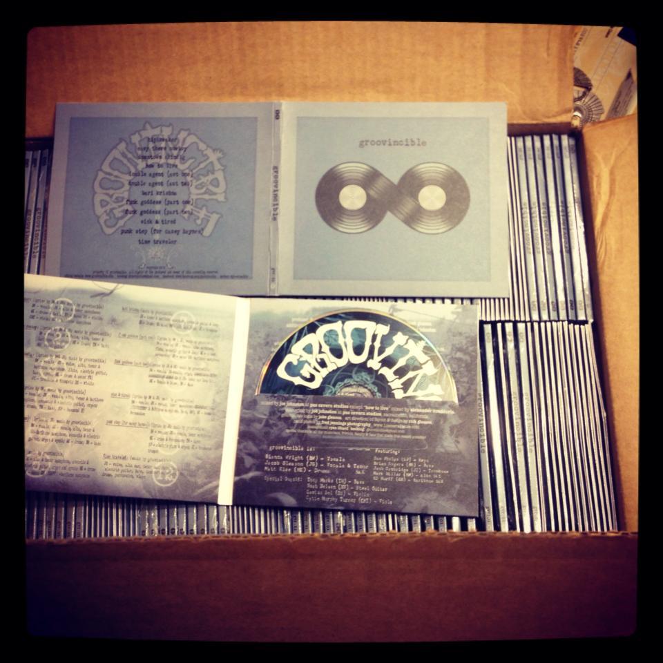 Groovincible CDs