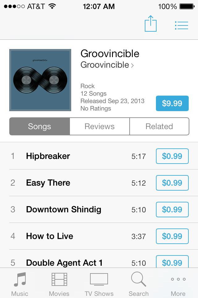 Groovincible-itunes