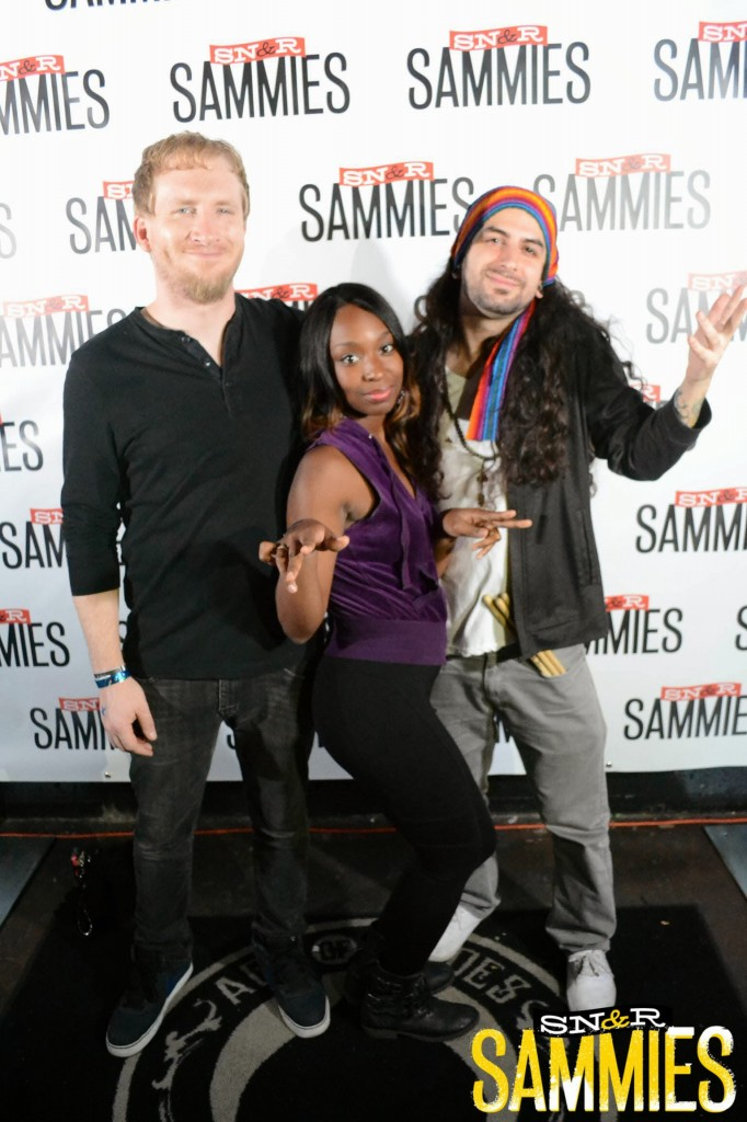 Groovincible at the SAMMIES